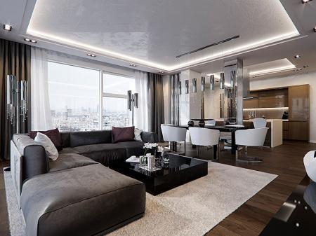 Квартира 117 кв.м., ЖК «На Петровском»
