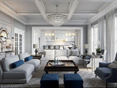 Дизайн квартиры «Американский акцент»