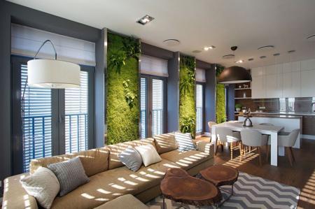 Квартира «Green Walls»