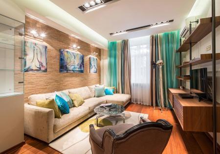 Интерьер квартиры на Космодамианской набережной