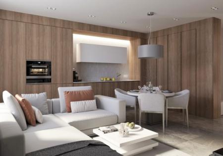 Квартира «Natural minimalism»
