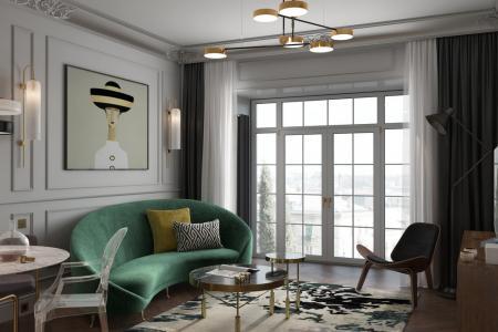 Квартира «Окно в Европу»