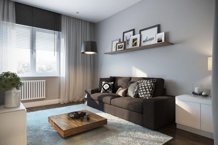 Квартира «Оттенки серого»