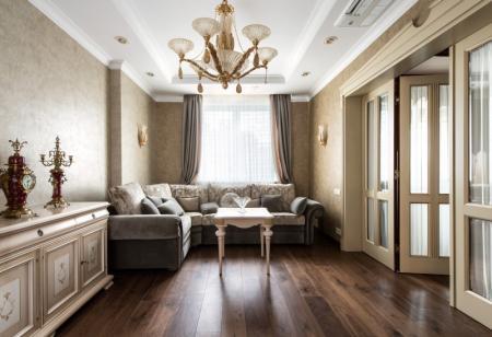 Дизайн квартиры в ЖК «Соловьиная роща», 120 м2