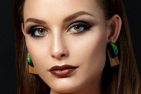 Макияж для зеленых глаз: пошаговые уроки (60 фото)