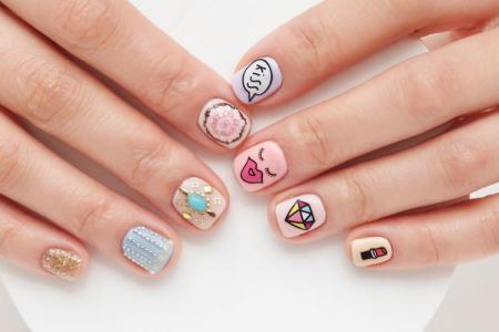 Маникюр на короткие ногти: красивые идеи (70 фото)