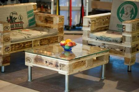 Мебель из поддонов своими руками: как сделать (60 фото)