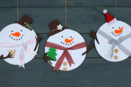 Новогодние поделки из бумаги для детей (50 фото)