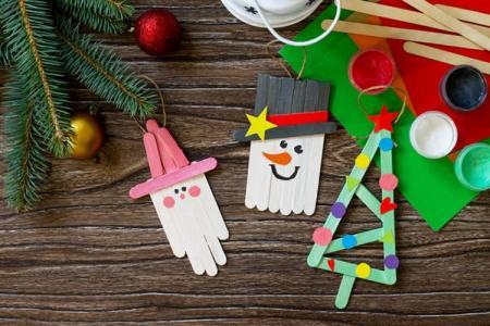 Новогодние поделки в детский садик своими руками (50 фото)