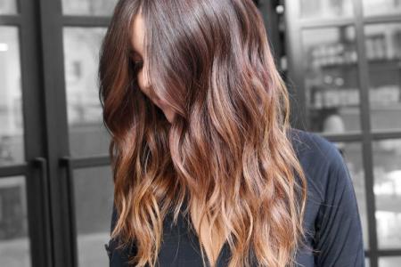 Омбре на темные волосы: 12 красивых идей окрашивания (фото)