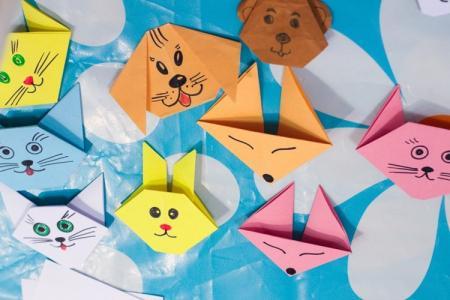 Оригами из бумаги для детей: 10 простых схем
