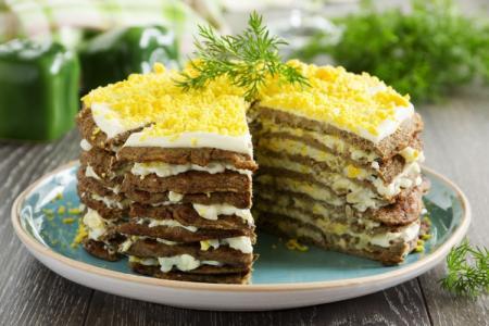 Печеночный торт: 12 самых вкусных рецептов приготовления