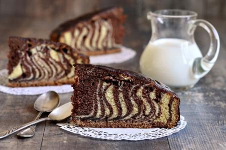 Пирог «Зебра» классический: 8 рецептов приготовления в духовке