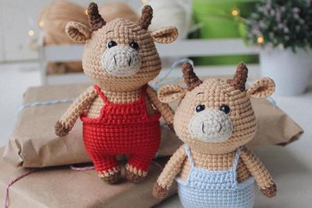 Поделка бычок своими руками: идеи на Новый год для детей