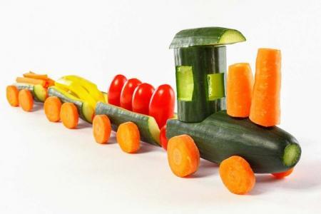 Поделки из овощей в школу: 10 красивых и легких идей (фото)