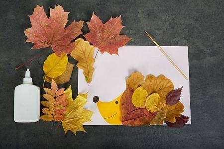 Поделки из природного материала для детского садика (50 фото)