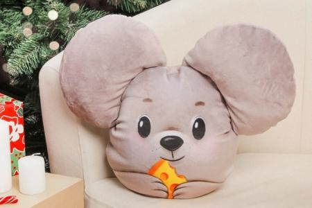 Подушка Мышка своими руками: 6 легких идей