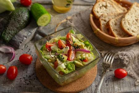 20 простых постных салатов на любой вкус