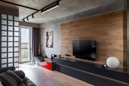 Проект квартиры For One, 48 м2