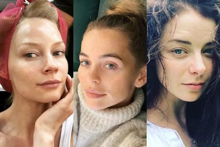 Российские знаменитости без макияжа: фото до и после