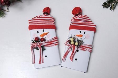 Снеговик из бумаги своими руками: 10 легких идей (фото)