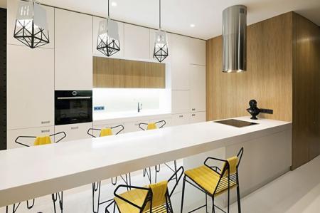 Дизайн квартиры 85 кв.м. в современном стиле, Киев