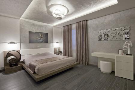 Интерьер спальни «Теплота минимализма»