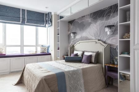 Спальня «В оттенках лаванды»