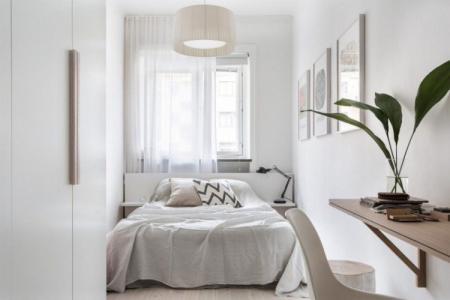 Интерьер спальни в скандинавском стиле (80 фото)