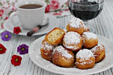 10 простых рецептов творожных пончиков в домашних условиях