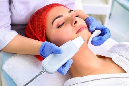 Ультразвуковая чистка лица: все о процедуре, фото до и после