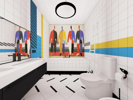 Ванная комната «Suprematism»